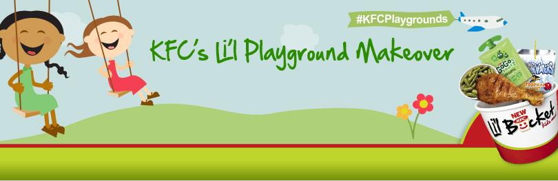 KFC's Li'l Playground Makeover (X 4/11/13)