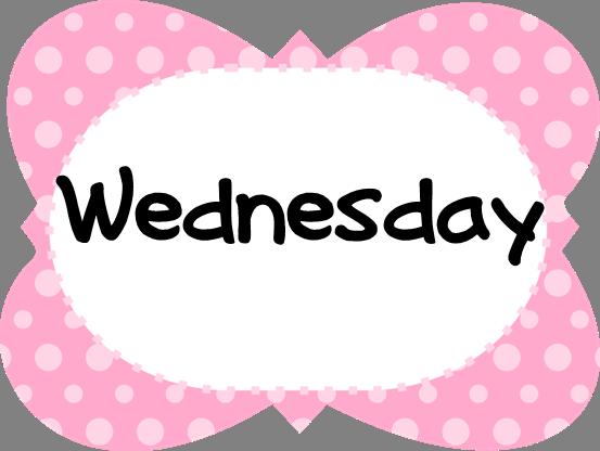 WednesdayPinkPolkaDotFrame