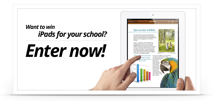 Worth Ave Group Teacher iPad Giveaway (X 3/31/13)