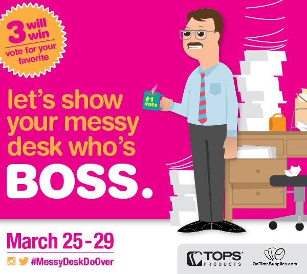 Messy Desk Contest (X 3/29/13)