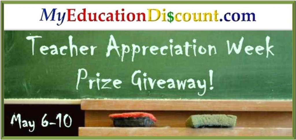 My Education Di$count.com Teacher Appreciation Giveaway (X 5/10/13)