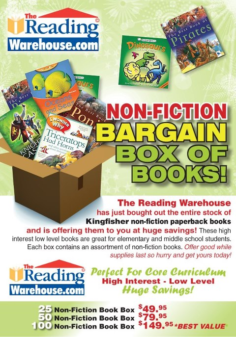 The Reading Warehouse Giveaway
