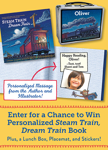 Steam Train, Dream Train Giveaway