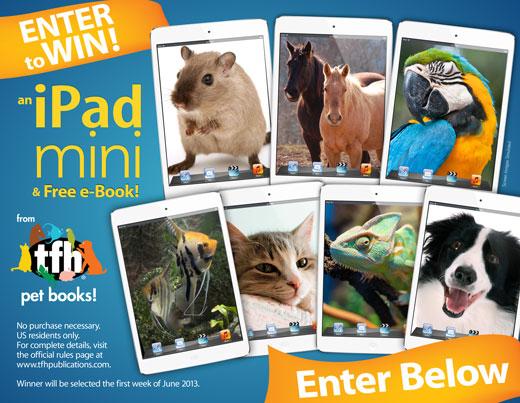 TFH Pet Books iPad Giveaway (X 5/31/13)
