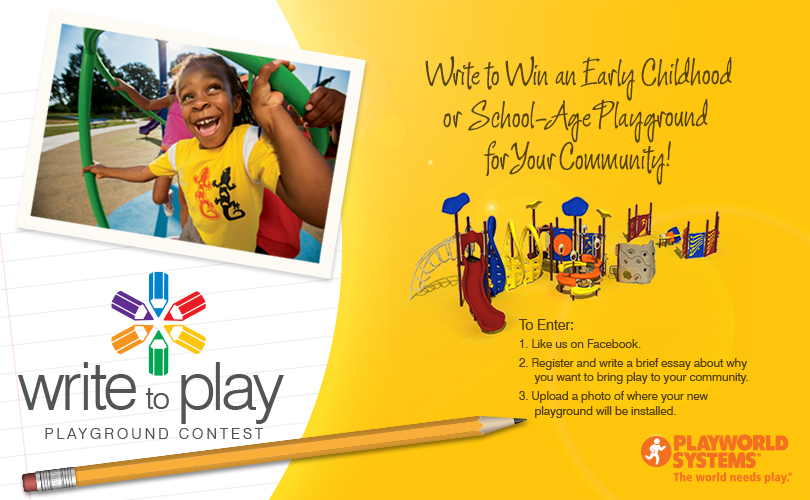 Write to Play Playground Contest (X 6/24/13)
