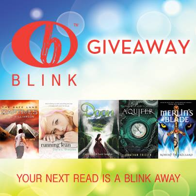 Blink Young Adult Book Giveaway