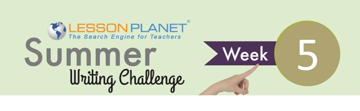 LessonPlanetWritingPrompt5