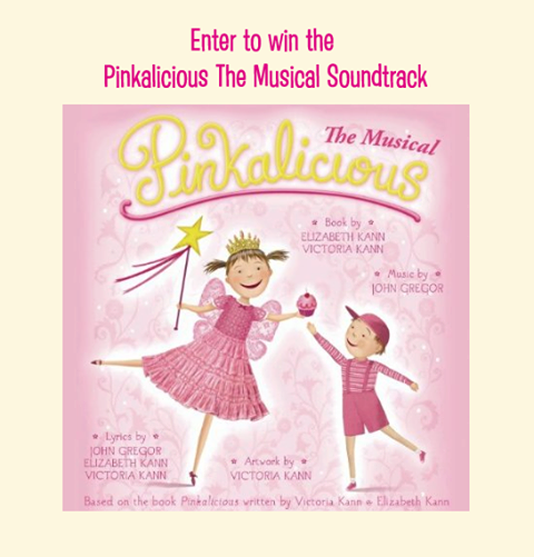 Pinkalicious The Musical Soundtrack Giveaway