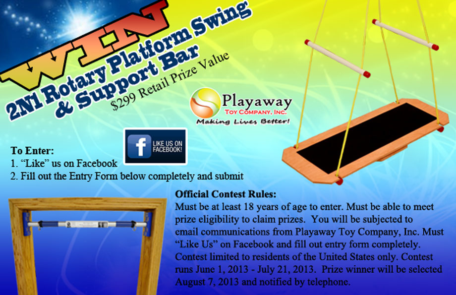 Playaway Toy Company Summer Contest (X 7/21/13)