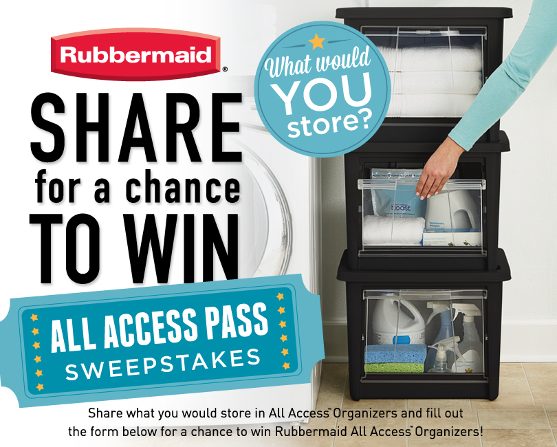 RubbermaidShareForAChanceToWin