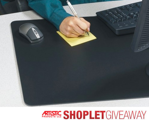Shoplet Desk Pad Giveaway