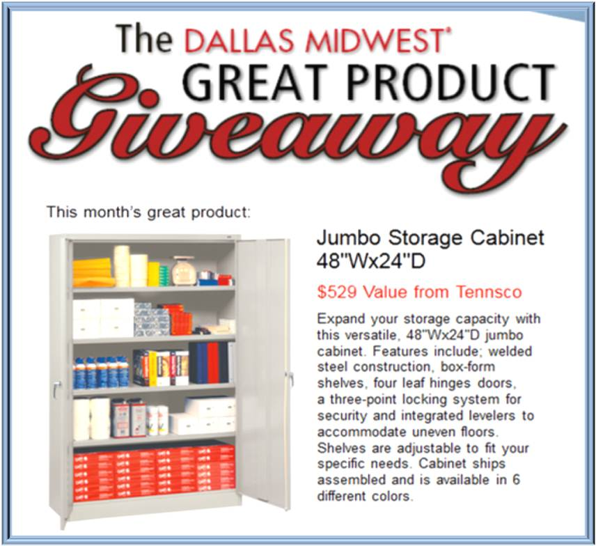 Jumbo Storage Cabinet #Teacher #Giveaway