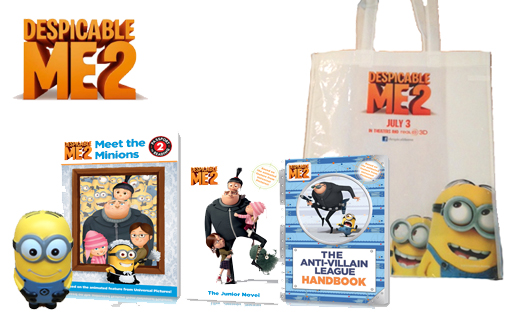 DespicableMe2ChildrensBookReview