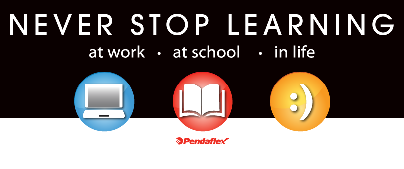 Pendaflex Never Stop Learning (X 7/26/13)