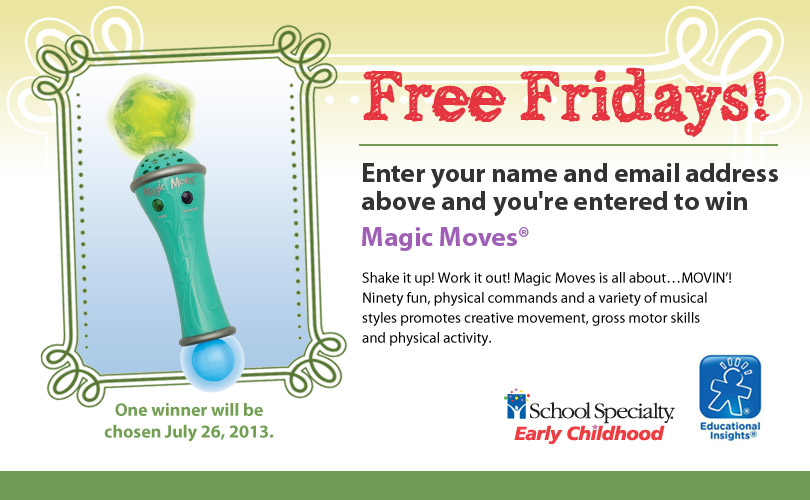 Magic Moves Giveaway (X 7/26/13)