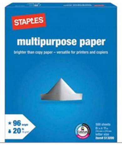 StaplesCopyPaper