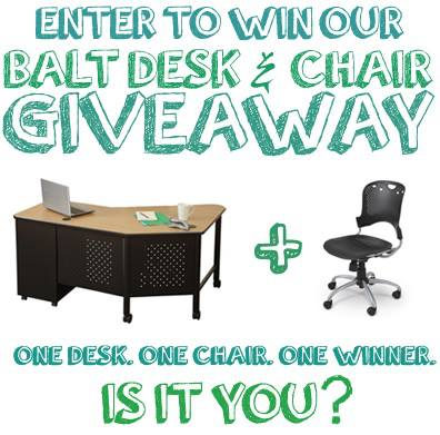 #Educator Desk and Chair #Giveaway