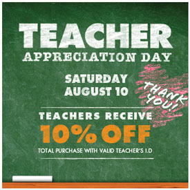 Teacher Appreciation @BigLots & Others This Weekend