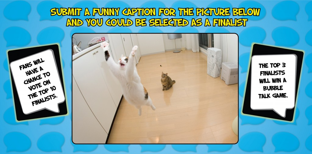 Caption Contest @BubbleTalkGame