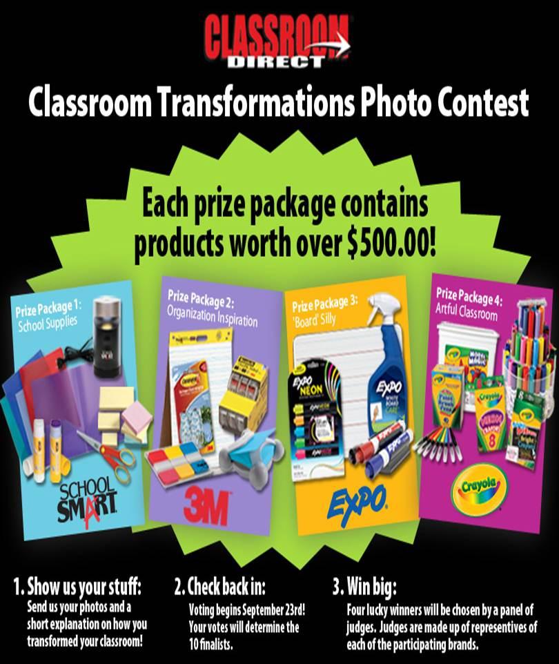 ClassroomDirectClassroomTransformationContest
