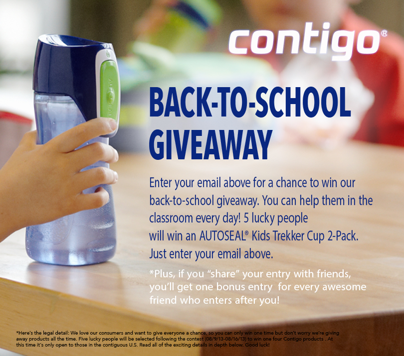 @Contigo #BackToSchool Giveaway