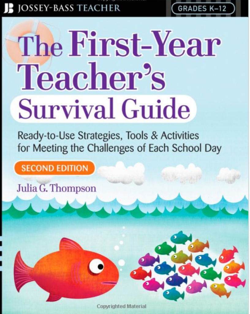 First-Year Teacher's Survival Guide Giveaway