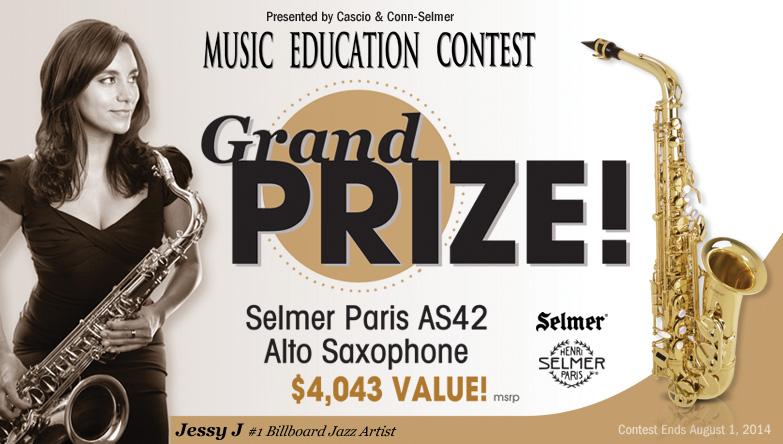 Saxophone Giveaway (X 8/1/14)