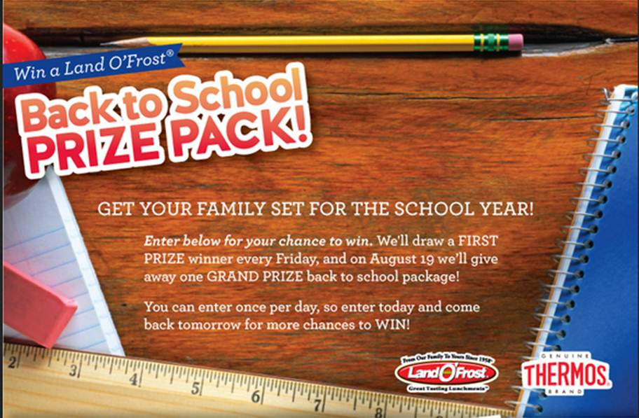 #BackToSchool @LandOFrost Giveaway