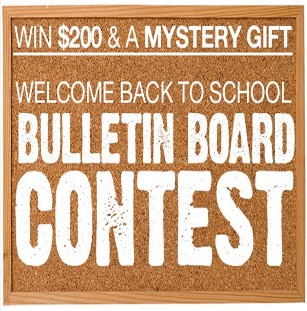 @PositivePromos Welcome #BackToSchool Bulletin Board Contest