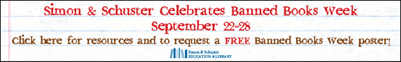 @SimonSchuster Banned Book Week Giveaway