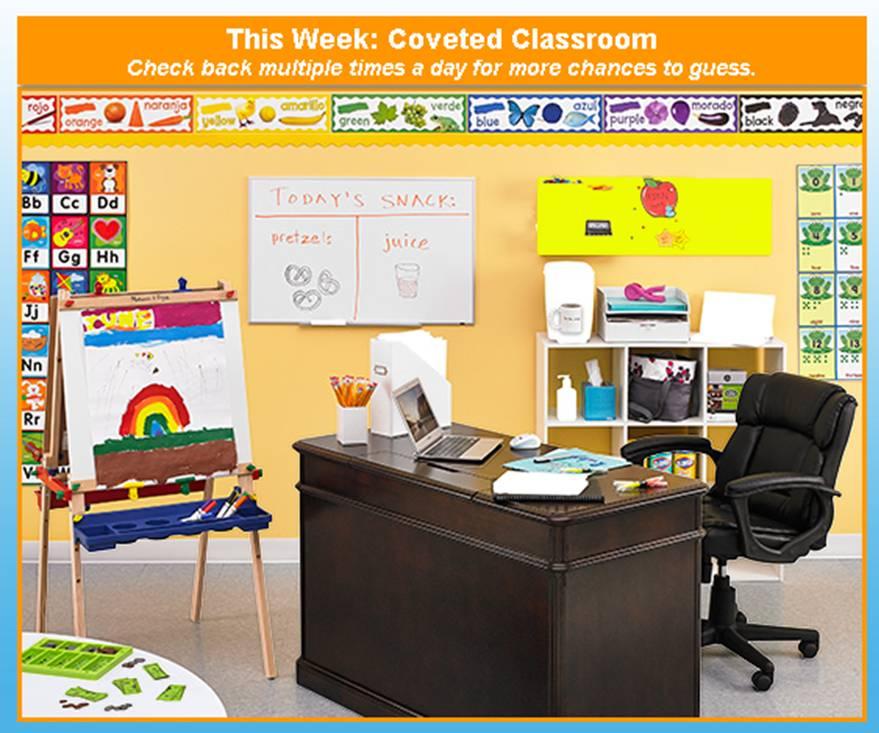 StaplesCovetedClassroom