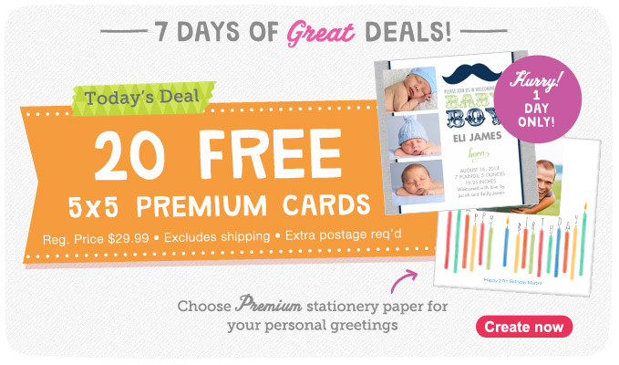 FREE Note Cards TODAY ONLY
