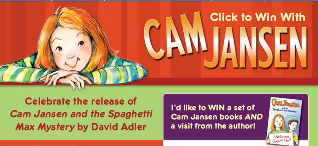 Click to Win with Cam Jansen! Sweepstakes (X 12/15/13)