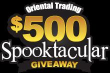 @OrientalTrading Spooktacular Giveaway (X 10/19/13)