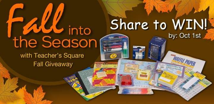 @TeachersSquare Fall #TeacherGiveaway