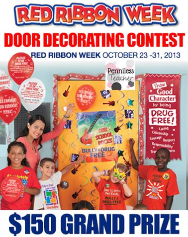 PositivePromotionsRedRibbonDoorDecoratingContest