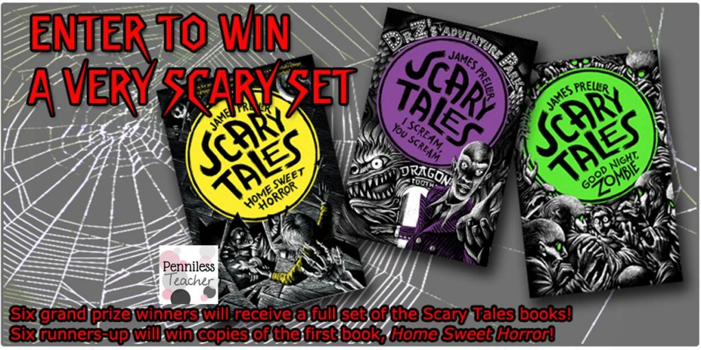 Scary Tales @ReadKiddoRead Giveaway