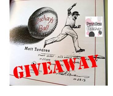 @TavaresBooks Giveaway
