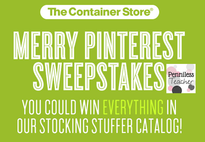 @ContainerStore Merry Pinterest #Sweepstakes