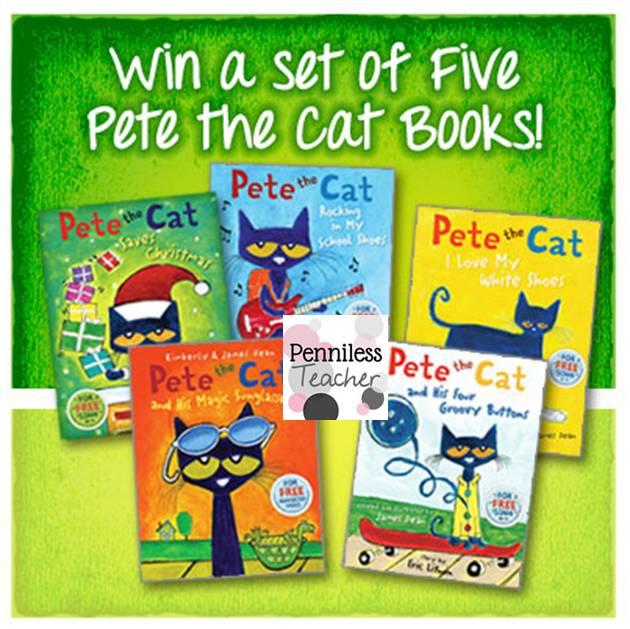 School Specialty Early Childhood Pete the Cat Giveaway