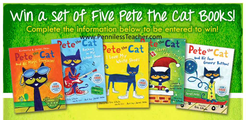 Pete the Cat Giveaway @SSI_Main