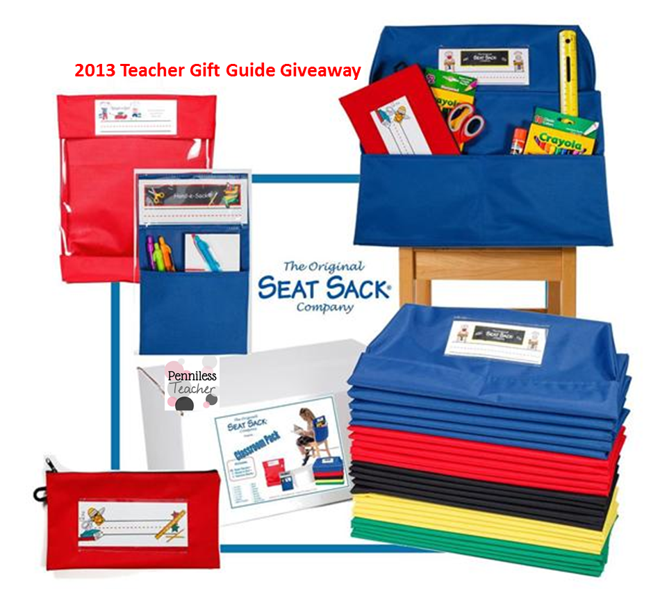 @SeatSack #Classroom Pack Review & #Giveaway #K12