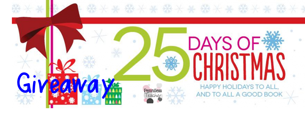 @HarperChildrens 25 Days of Christmas #Giveaway Dec 24