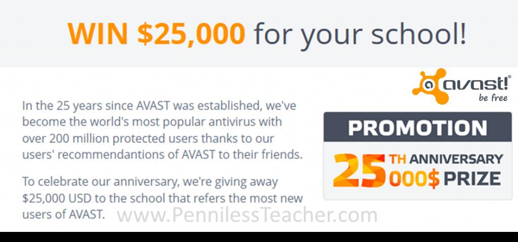 AVAST $25K Giveaway (X 1/31/14)