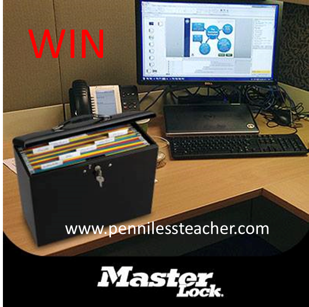 Master Lock Storage Box Giveaway (X 1/31/14)