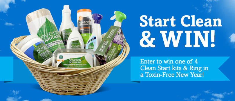 Clean Start with Seventh Generation Giveaway (X 1/28/14)