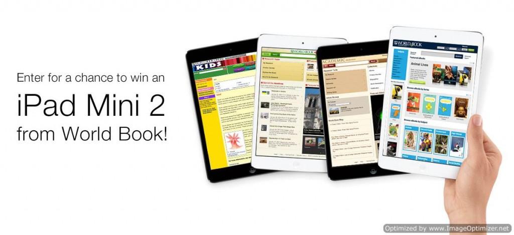 iPad #Giveaway @WorldBookInc
