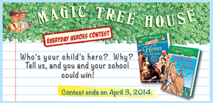 @RandomHouseKids Magic Tree House Giveaway (X 4/3/14)