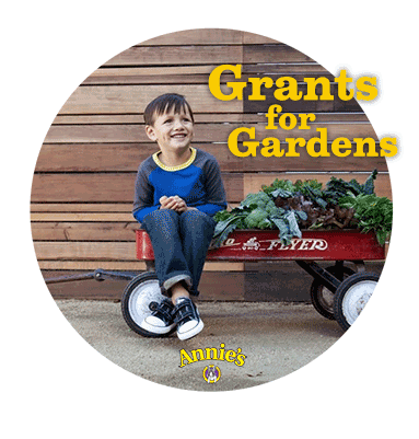 @AnniesHomegrown Grants for Gardens (X 6/1/14)