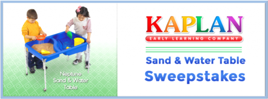 @KaplanCo Sand & Water Table #Giveaway (X 4/18/14)